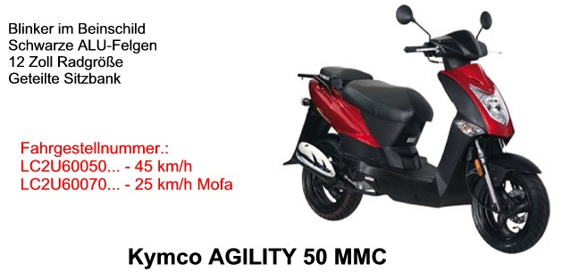 Agility 50 4T MMC