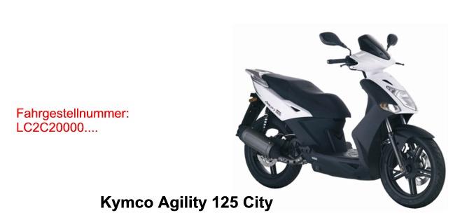 Agility 125 City