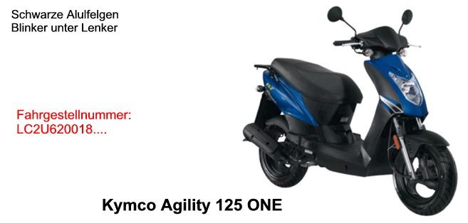 Agility 125 ONE