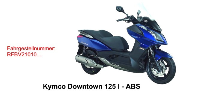 Downtown 125i ABS