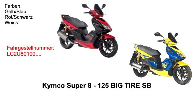 Super 8 125 Big Tire KL25SB