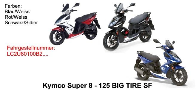 Super 8 125 Big Tire KL25SF