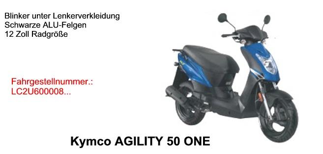 Agility 50 ONE