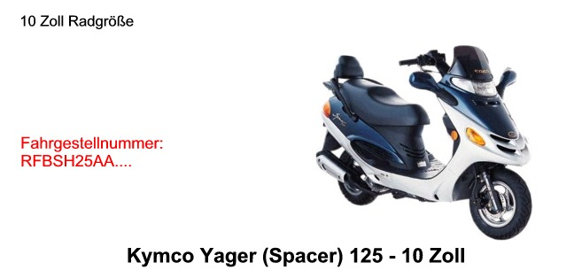 Yager 125 10 Zoll