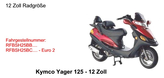 Yager 125 12 Zoll