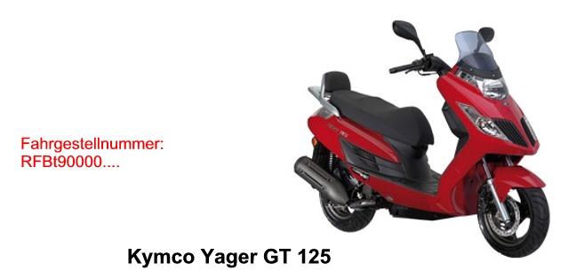 Yager GT 125 EURO 3