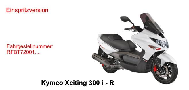 Xciting 300 i R
