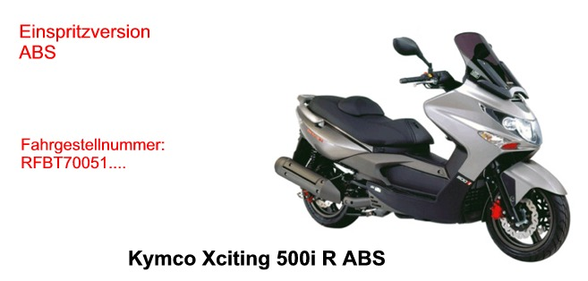Xciting 500i R ABS