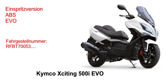 Xciting 500 i EVO