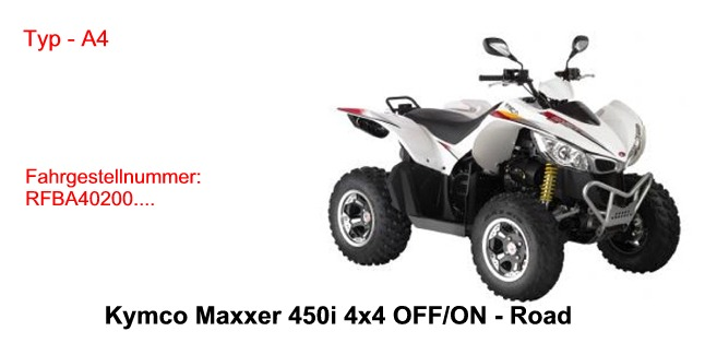 Maxxer 450i 4x4 OFF/ON Road