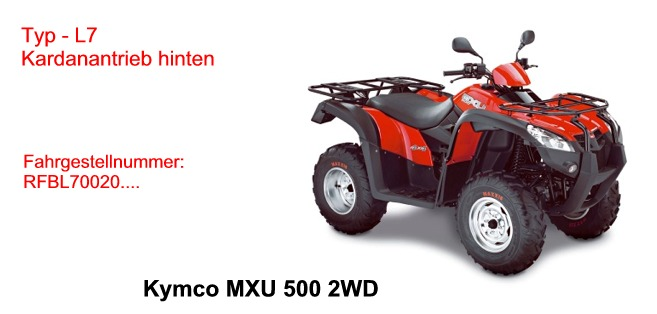 MXU 500 2WD
