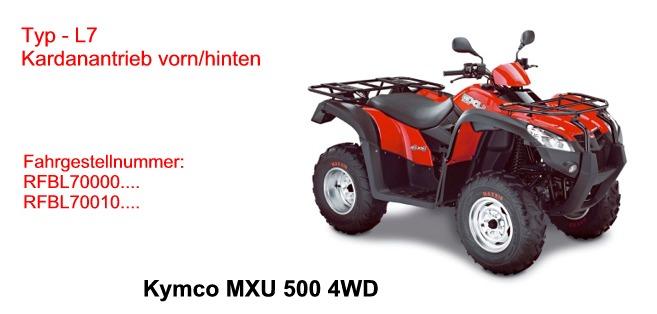 MXU 500 4WD