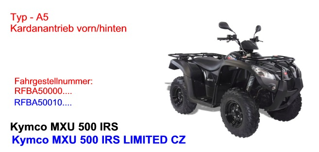 MXU 500 IRS (DE+ CZ)/ LIMITED (nur CZ)