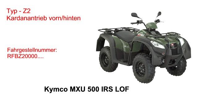 MXU 500 IRS LOF