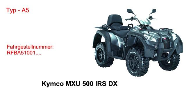 MXU 500 IRS DX