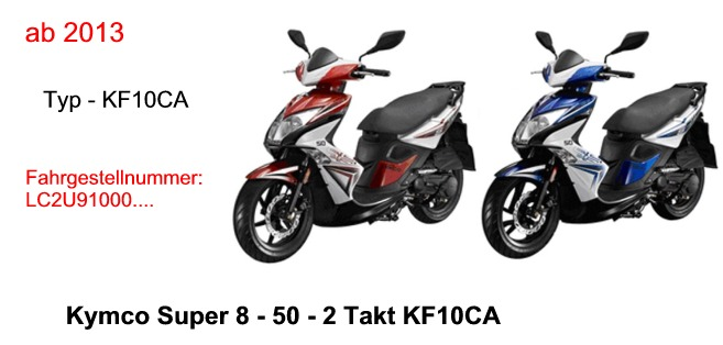 super 8 50 2t kf10ca kymco scooterparts. Black Bedroom Furniture Sets. Home Design Ideas