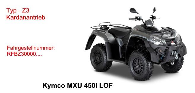 MXU 450i LOF