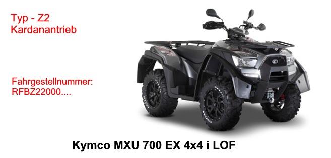 MXU 700 EXi LOF