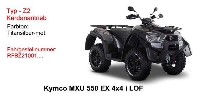 MXU 550 EXi LOF