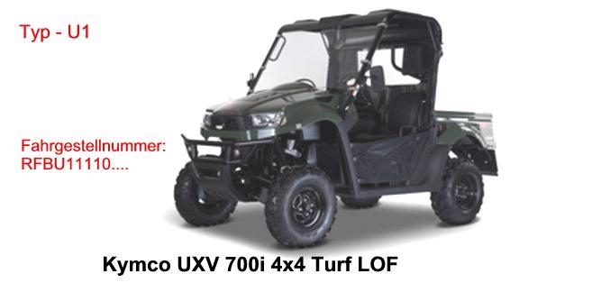 UXV 700i 4x4 Turf / UXV 700i 4x4 Turf LOF
