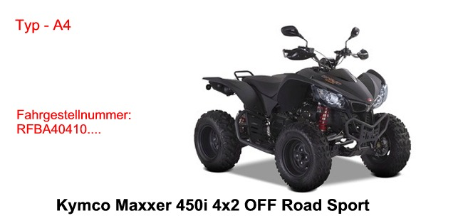 Maxxer 450i 4x2 Off Road SPORT