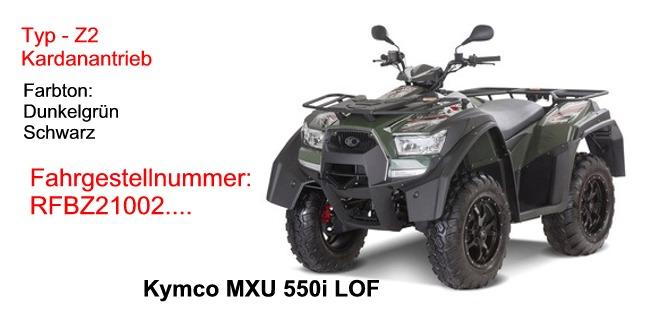 MXU 550i LOF