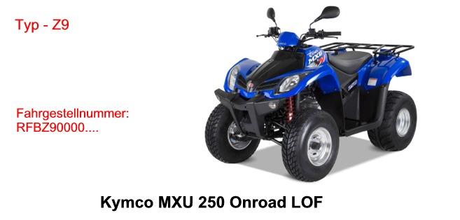 MXU 250 LOF