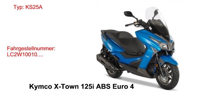 X-Town 125i ABS Euro4