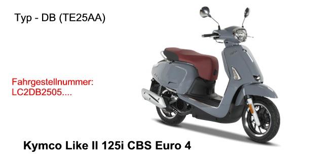 Like II 125i CBS E4