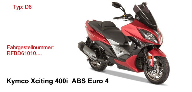 Xciting 400i ABSEuro4