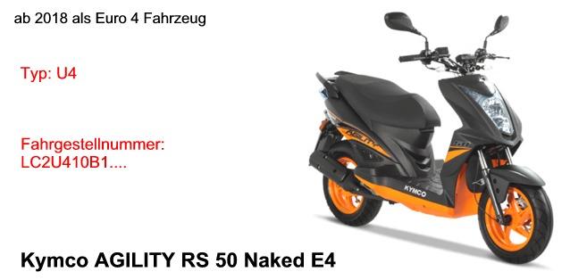 Agility RS 50 Naked E4