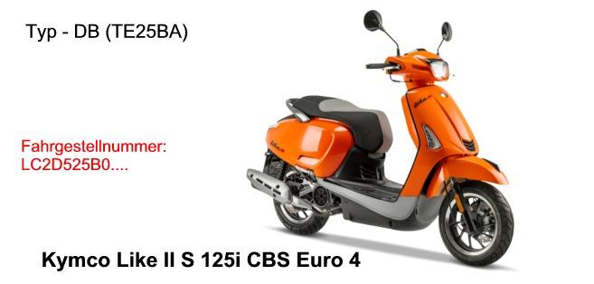 Like II S 125i CBS