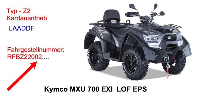 MXU 700 EXi LOFEPS