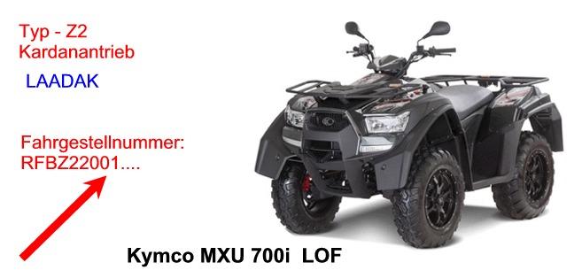 MXU 700i LOF(LAADAK)
