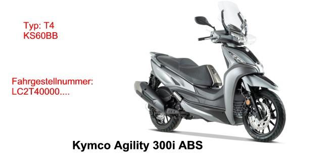 Agility 300i ABS E4