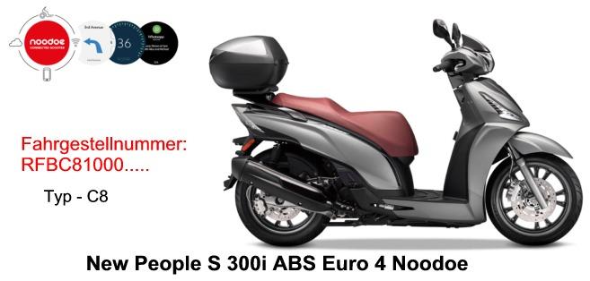 New People S 300i ABS E4 Noodoe