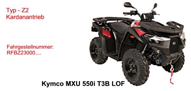 MXU 550i T LOF