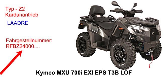 MXU 700i EXi EPS T LOF