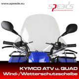 SPEEDS Wetterschutzscheibe Kymco ATV/QUAD