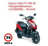 Mofa Kit - Agility RS 50 - 4 Takt