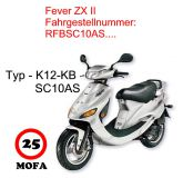 Mofa Kit - Fever ZX II - 2 Takt - 45 km/h