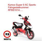 Mofa Kit - Super 9 AC Sports - 2 Takt