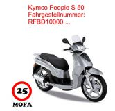 Mofa Kit - People S 50 - 4 Takt