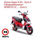 Mofa Kit - Super 9 AC - 2 Takt - Euro 2