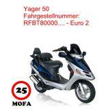 Mofa Kit - Yager 50 - 2 Takt - Euro 2