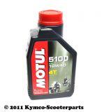 MOTUL 5100 4T 10W-40 - 1,0 Liter