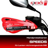 Handprotektoren Rot SPEEDS