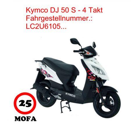 mofa kit dj 50 s 4 takt kymco scooterparts. Black Bedroom Furniture Sets. Home Design Ideas