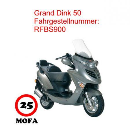 mofa kit grand dink 50 2 takt kymco scooterparts. Black Bedroom Furniture Sets. Home Design Ideas